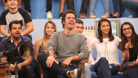 Bruno Mazzeo diz que sente falta de comentar o jogo do Vasco com Chico Anysio: 'A saudade não passa nunca'