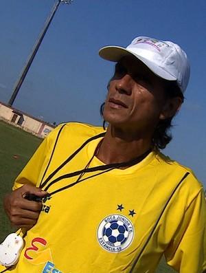 Iedo Morgado treinará o Boca Júnior na Série A2 (Foto: Reprodução/TV Sergipe)