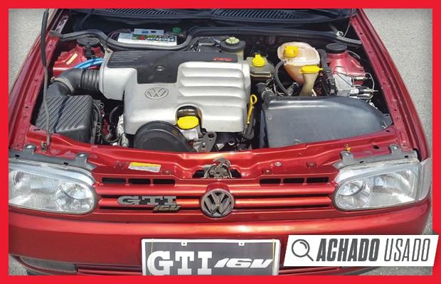 Capa do motor do Gol GTI 16V esconde um propulsor que tem pouco do AP nacional (Foto: Reprodução)