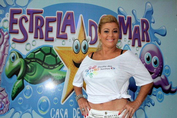 Cida (Foto: Graça Paes/Photo Rio News)
