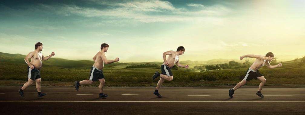 Atividade física regular e boa alimentação vão te ajudar a sair do sedentarismo e perder peso  (Foto: Istock Getty Images)