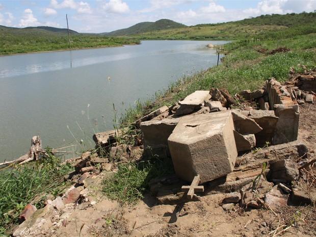 Famílias sofrem com cheia da barragem de Acauã (Foto: Assessoria de Imprensa / MPF-PB)