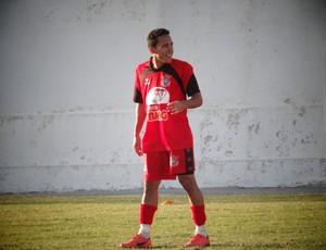 Branquinho, meia do Corinthians-AL (Foto: Paulo Victor Malta / Globoesporte.com)