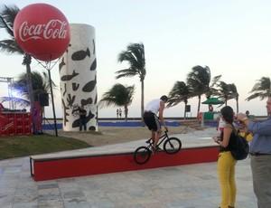 Praia, Iracema, Beira, Mar, esportes, Fortaleza, Espaço, Pratico, Diversão (Foto: Tom Alexandrino)