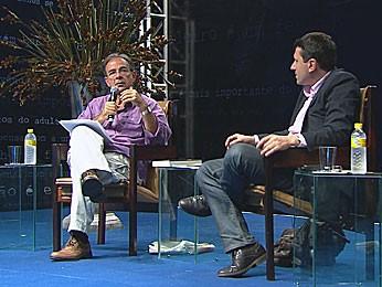 Fliporto - Silio Boccanera e Fréderic Martel (Foto: Reprodução / TV Globo)