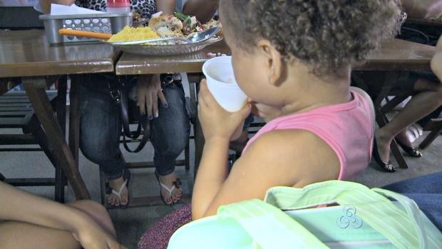 Obesidade infantil é a maior causa da obesidade adulta (Foto: Bom Dia Amazônia)