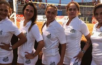 Santos é campeão sul-americano de futevôlei feminino