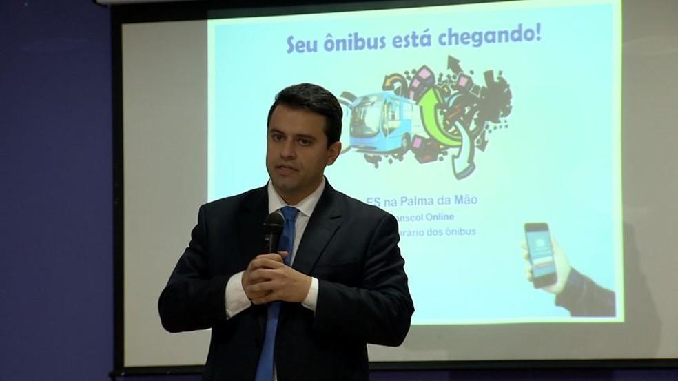 Aplicativo do Transcol é lançado (Foto: Reprodução/ TV Gazeta)