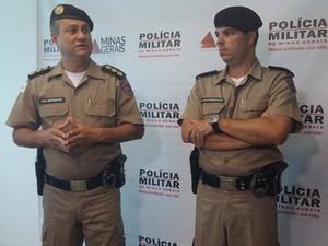 Comando desconhecia problemas psicológicos de policial em Uberlândia (Foto: Caroline Aleixo/G1)