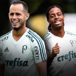 Carrossel Guerra e Keno Palmeiras (Foto: Editoria de arte)