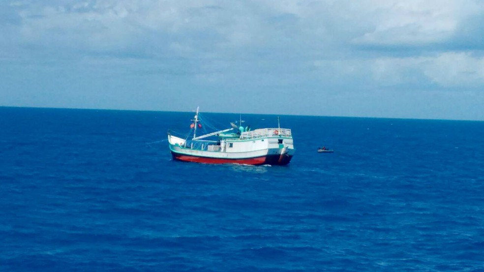 Embarcação tem registro em Belém (Foto: Divulgação/Marinha do Brasil)