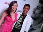 Marcello Melo Jr comemora aniversário com amigos famosos em boate carioca