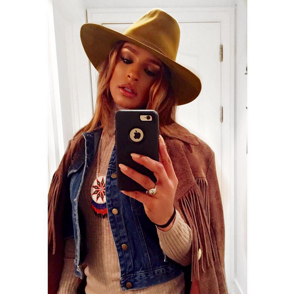 A cantora Melody Thorton (Foto: Instagram)