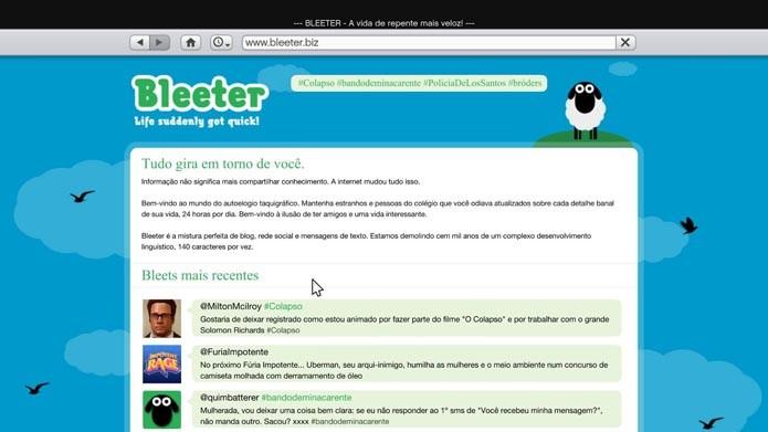 Bleeter (Foto: Reprodução/Murilo Molina)