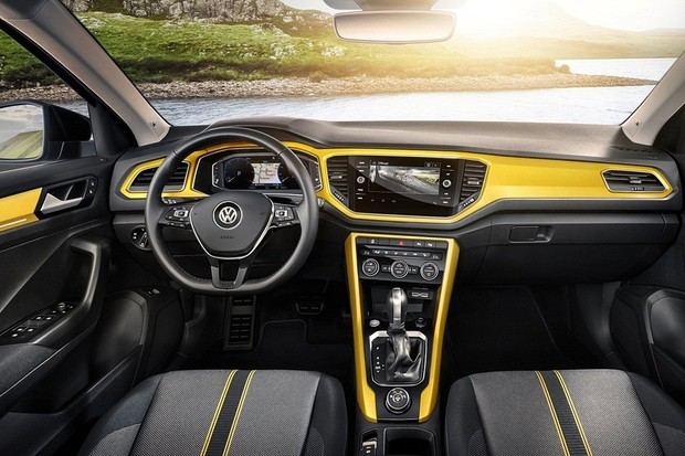 volkswagen revela t roc modelo que vem para o brasil. Black Bedroom Furniture Sets. Home Design Ideas