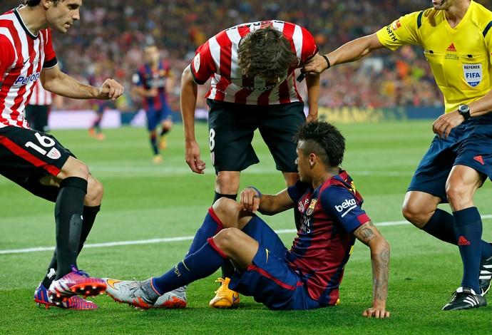 Neymar Barcelona Athletic Bilbao (Foto: Reuters)