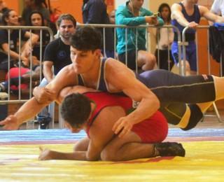 São José dos Campos luta olímpica Jogos Abertos do interior 2016 (Foto: Tião Martins/PMSJC)