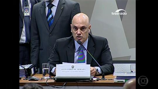 Senado aprova a indicação de Alexandre de Moraes para o STF