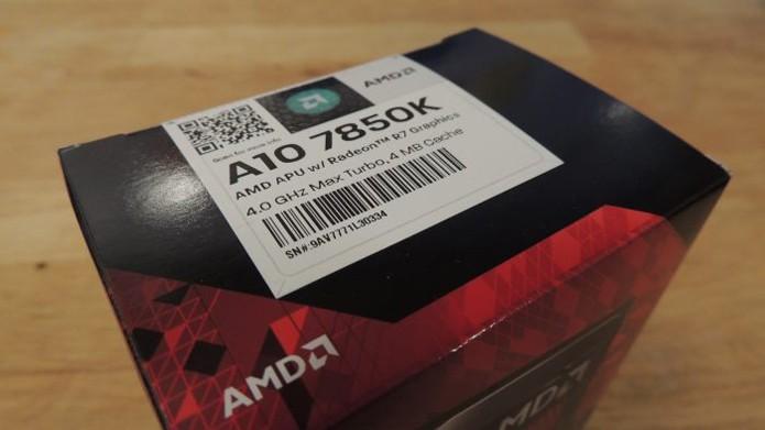 APU A10 conta com nova arquitetura (Steamroller) e usa GPU com design Hawaii (Foto: Reprodução/Guru3D)