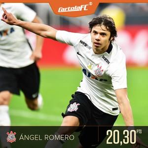 Cartola Pontuador ANGEL ROMERO (Foto: infoesporte)