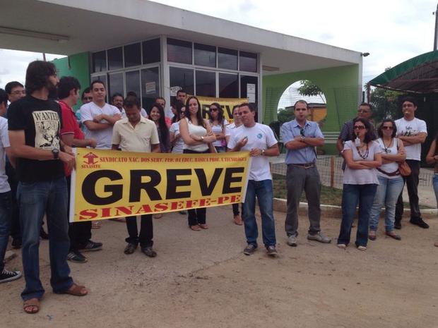 Por causa da greve, aulas foram suspensas (Foto: Renata Torres/Divulgação)