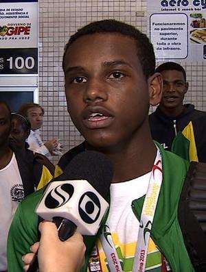 Carlos Rafael boxeador sergipano (Foto: Reprodução/TV Sergipe)
