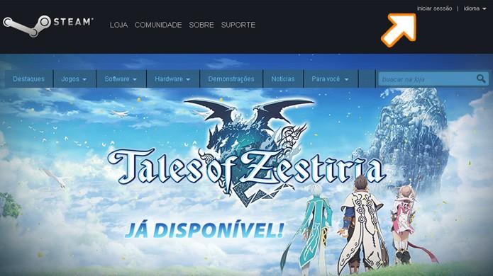 Confira como recuperar acesso a sua senha no Steam em caso de esquecimento (Foto: Reprodução/Rafael Monteiro)
