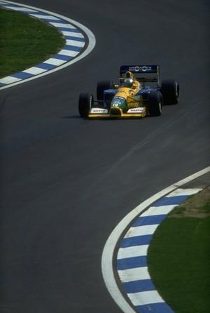 Michael Schumacher em 1991 (Foto: Getty Images)