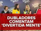 'Divertida mente': Dani Calabresa e Miá Mello falam de estreia na dublagem