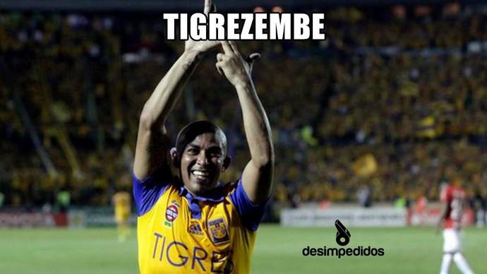 Corneta Inter Tigres Libertadores (Foto: Reprodução)