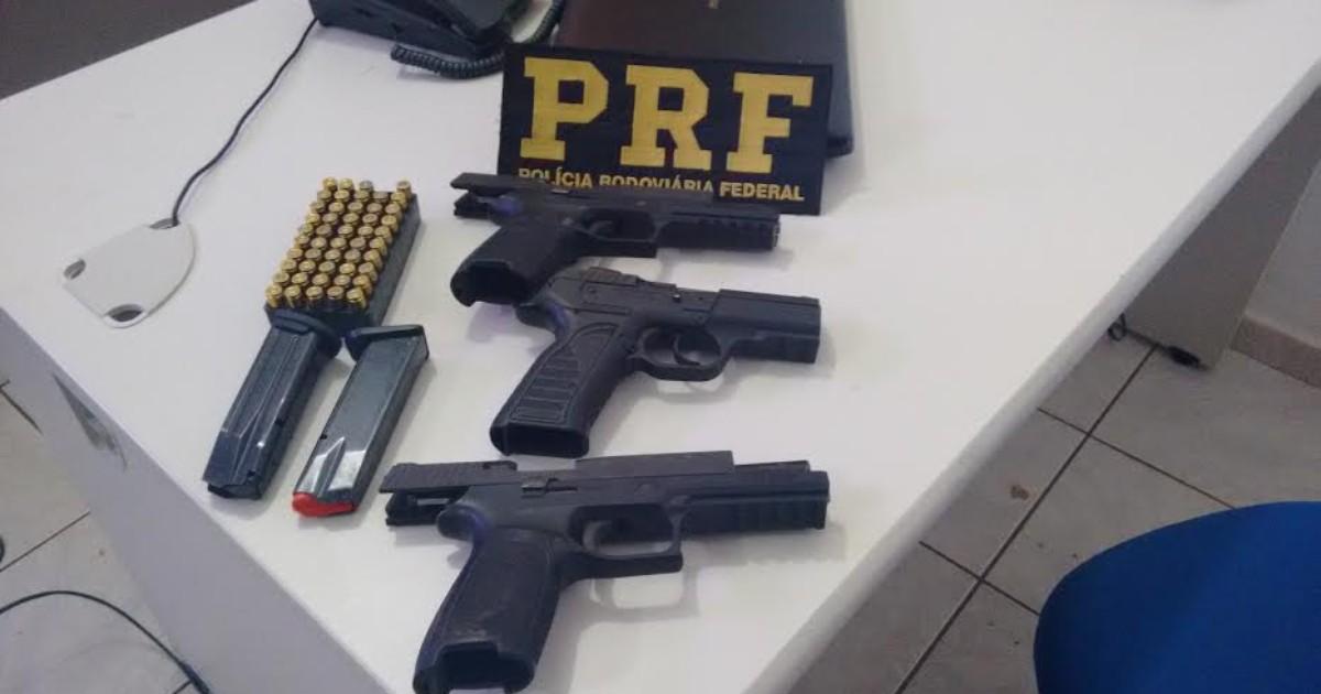 Homens são presos com três pistolas e 49 munições, em Ji-Paraná ... - Globo.com