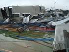 'Fui para baixo da cama ao ouvir tornado', diz morador de Taquarituba