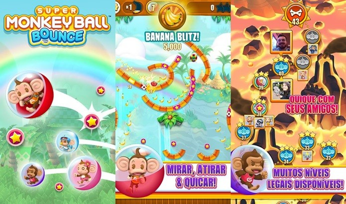 Game casual traz de volta os personagens divertidos de Super Monkey Ball (Foto: Divulgação)