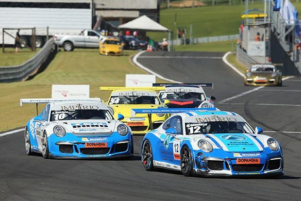 Darío Giustozzi #12 vencedor da categoria master (Foto: Divulgação/Luca Bassani/Porsche Império GT3)