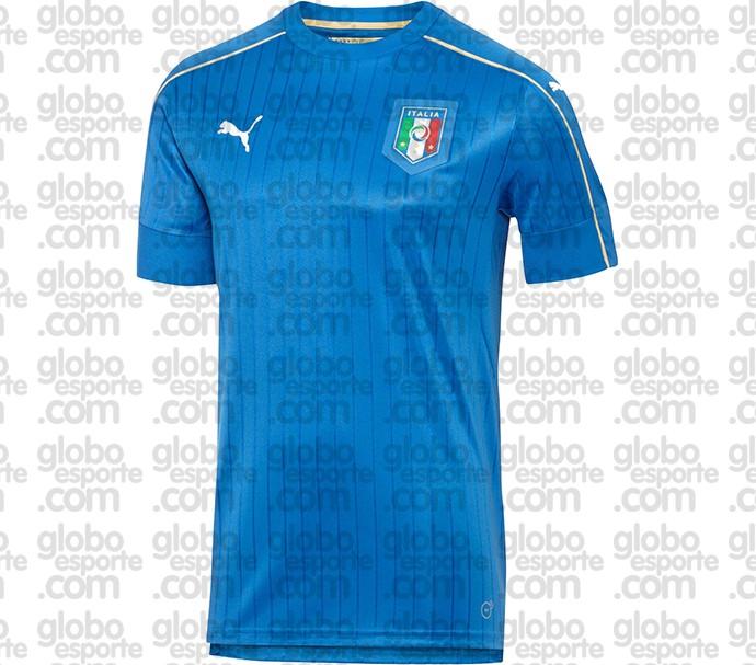d7bcd417fca57 Itália aposta em listras verticais em uniforme da Eurocopa do ano ...