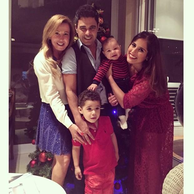 Família Camargo (Foto: Reprodução do Instagram)