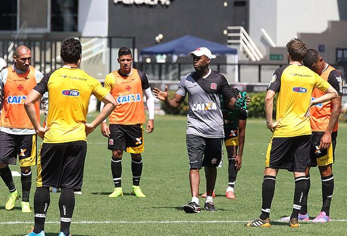 jogadores no treino do Vasco (Foto: Marcelo Sadio / Site Oficial do Vasco)