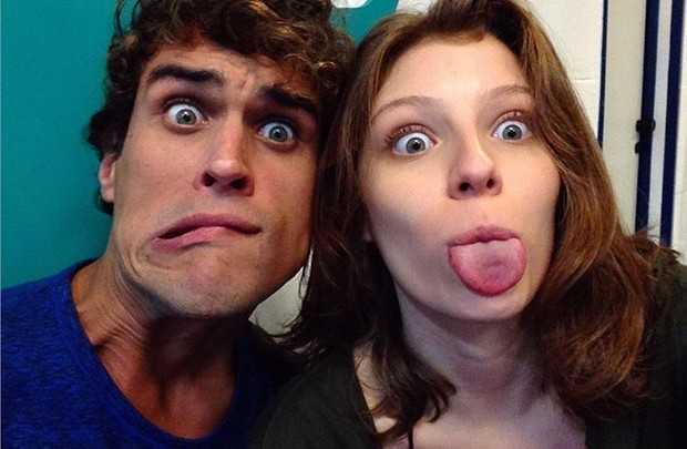Giulia Gayoso e Felipe Roque (Foto: Reprodução / Instagram)