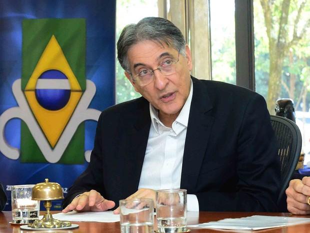 O governador de Minas Gerais, Fernando Pimentel, durante reunião no início deste mês (Foto: Marcelo Sant'Anna/Imprensa MG/Divulgação)