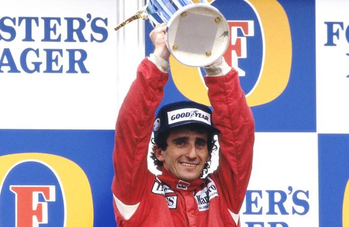 Alain Prost, Formula 1 - 1986 (Foto: Getty Images)