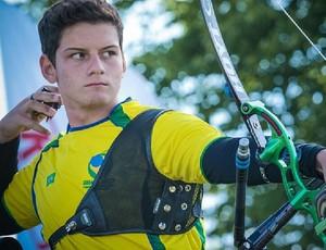 Marcus D'Almeida Mundial tiro com arco Dinamarca (Foto: Divulgação)