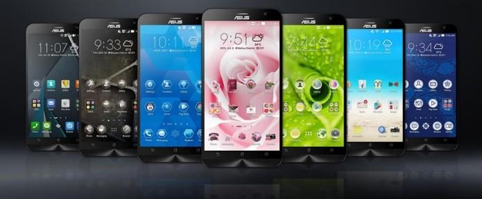 O Zenfone 2 vem com interface ZenUI da Asus no Android (Foto: Divulgação/Asus)