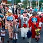Mais de 70 mil fazem a festa no Bloco do Magão (Reprodução/Inter TV Cabugi)