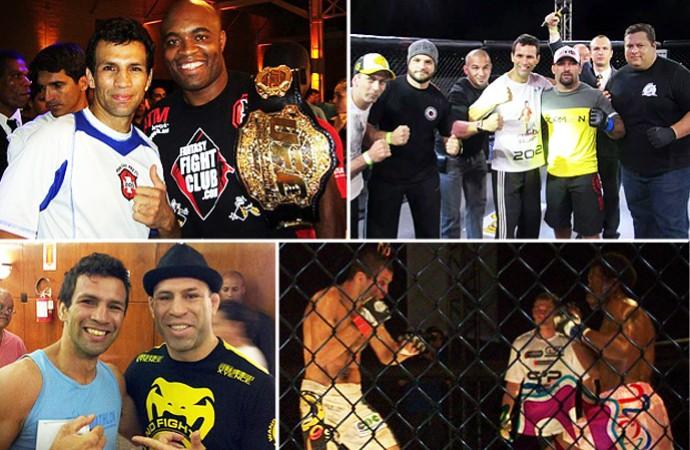 Alessandro Flor, garçom e lutador de MMA (Foto: Arte GloboEsporte.com)