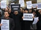 União Europeia e EUA condenam Turquia por prisões de jornalistas