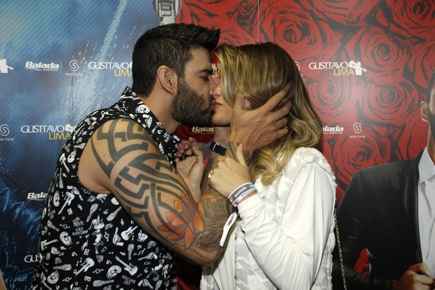 Andressa Suita e Gusttavo Lima (Foto: Celso Tavares/EGO)