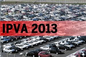 IPVA 2013 (Foto: Autoesporte)
