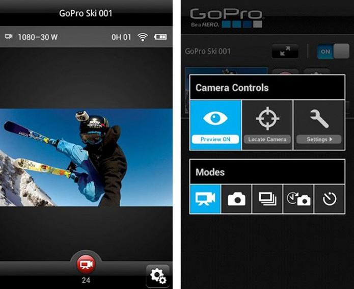 Já é possível controlar uma câmera GoPro usando um smartphone ou tablet (Foto: Divulgação/ GoPro)