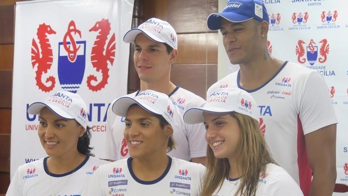 Nadadores da região estão motivados para as Olimpíadas (Foto: Antonio Marcos)