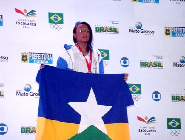 Renata Cangussú, nadadora de RO (Foto: Juliana Melo/Divulgação)